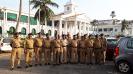 Kexcon Security Guards at Govt. Secreteriat